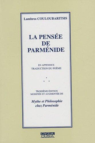 9782870601426: La Pensee de Parmenide