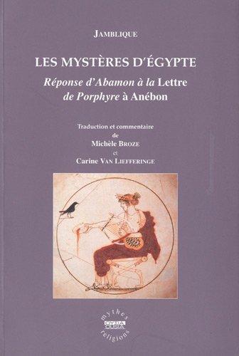Les mystères d'Égypte: Jamblique