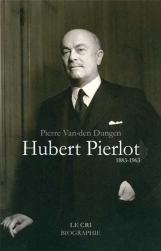 9782871065425: Hubert Pierlot. 1883-1963