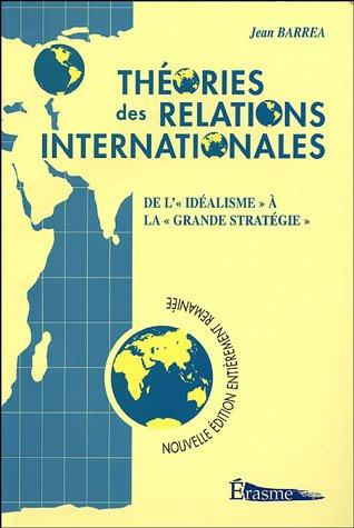 9782871277415: Théories des relations internationales