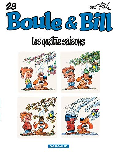 9782871293538: Les quatre saisons (Boule & Bill Nø28)