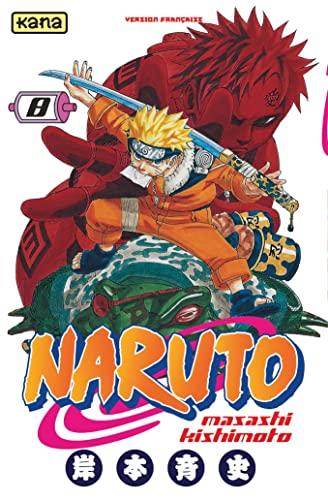 9782871295525: Naruto, tome 8