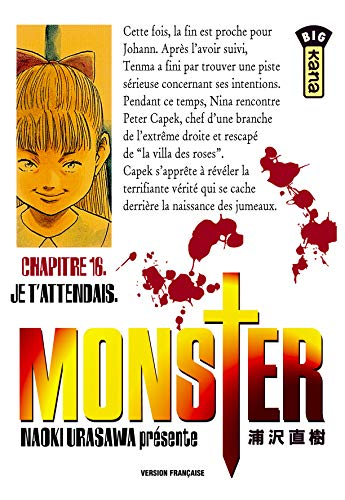 9782871296478: Monster, tome 16 : Je t'attendais