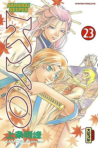 Samurai Deeper Kyo, tome 23 [Poche]: Kamijyo, Akimine