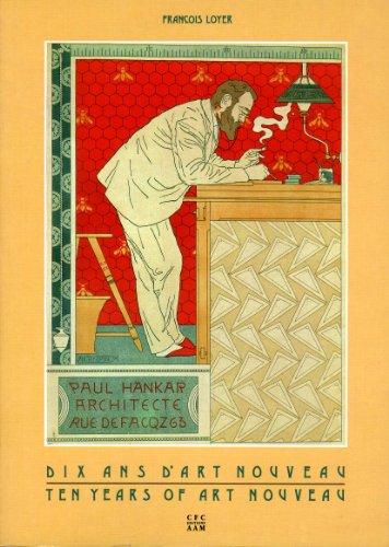 9782871430780: Paul Hankar, architecte: Dix ans d'Art nouveau