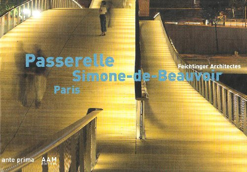 9782871431756: Passerelle Simone-de-Beauvoir Paris