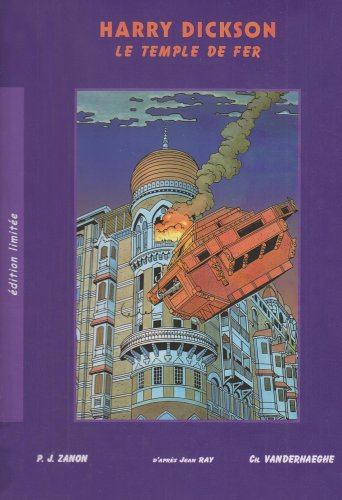 9782871510987: Le Temple de Fer *Edition de Luxe* (French Edition)