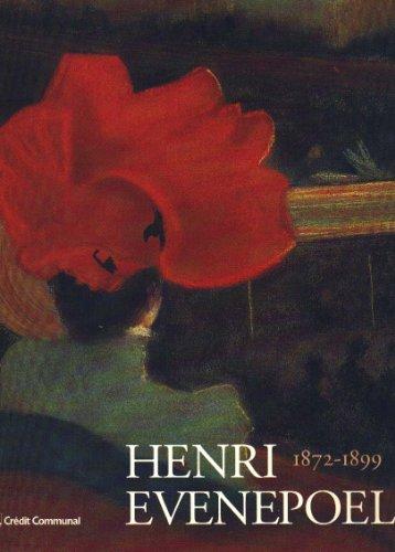 9782871931881: Henri Evenepoel, 1872-1899