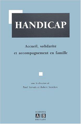9782872096602: Handicap. Accueil, solidarit� et accompagnement en famille