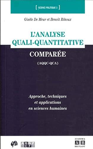 L'analyse quali-quantitative comparée: Demeur, Gisèle; Rihoux,