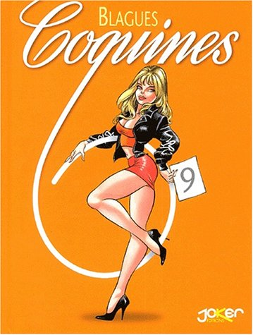 BLAGUES COQUINES T.09: COLLECTIF