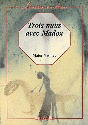 9782872821013: Trois nuits avec Madox