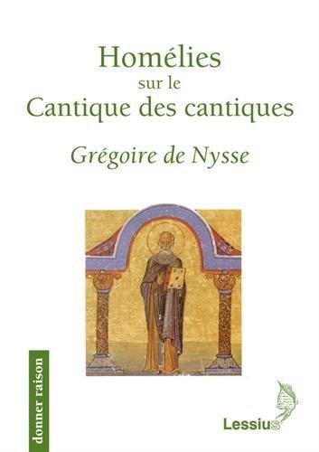 9782872991754: Homelies sur le Cantique des cantiques (French Edition)