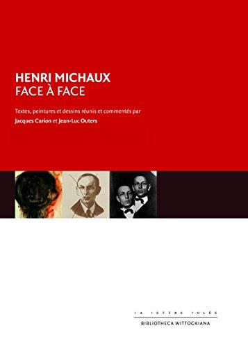 9782873174491: Henri Michaux face à face