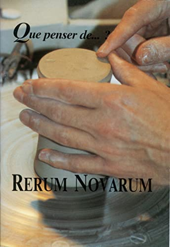 9782873560089: Rerum novarum