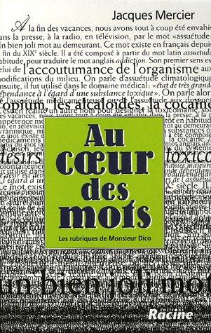 9782873864163: Au coeur des mots (French Edition)