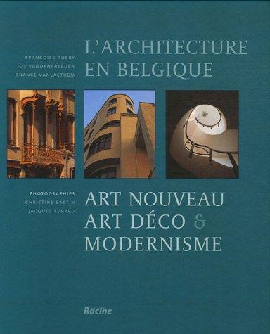 9782873864675: L'architecture en Belgique