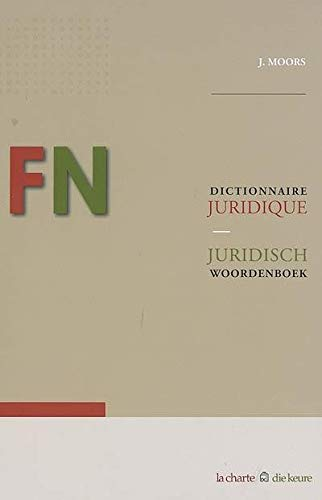 9782874031342: Dictionnaire juridique français-néerlandais