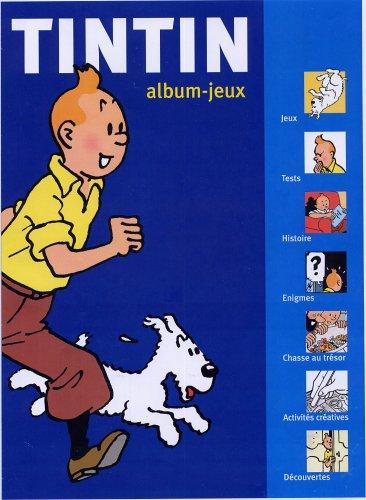 9782874240645: Album-jeux Tintin : Tome 1