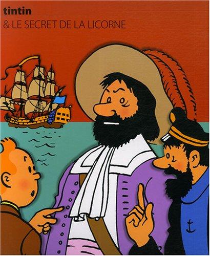 9782874240980: Les Aventures de Tintin : Le secret de la Licorne (Livre animé)