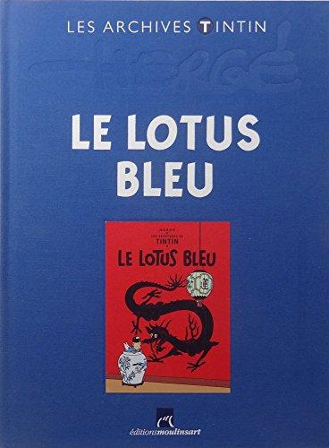 les aventures de tintin 05 le lotus bleu franzosische originalausgabe