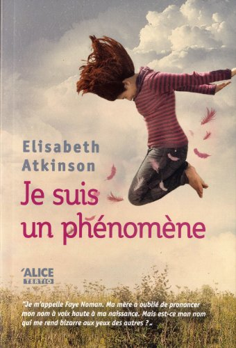 9782874261565: Je Suis un Phenomene (English and French Edition)