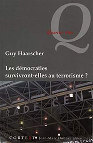 9782874300882: D�mocraties survivront-elles au terrorisme ?