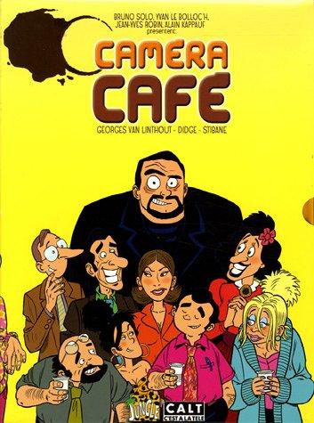9782874420771: Caméra Café : Coffret en 3 Volumes : Tome 1, T'en veux ? T'en veux ? ; Tome 2, Ca va faire chier la direction ; Tome 3, Ca va déchirer ce soir !
