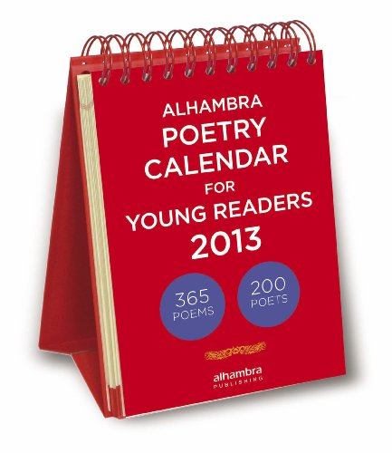 9782874480478: Alhambra Poetry Calendar for Young Readers 2013