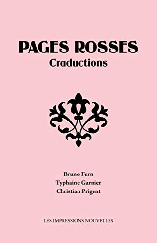 9782874492464: Pages rosses : craductions