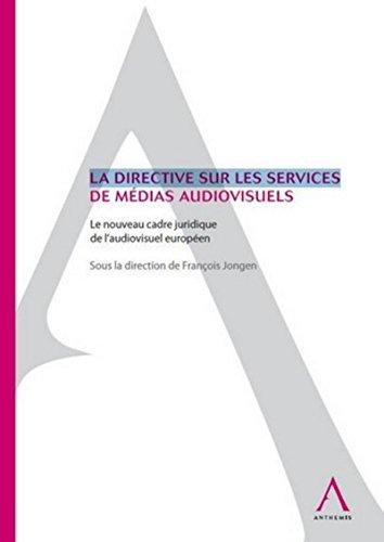 Directive Services de Medias Audiovisuel: François Jongen