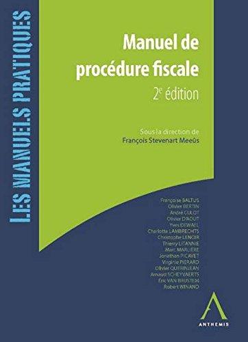 9782874557682: Manuel de procédure fiscale