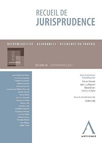 9782874557712: Le Recueil de jurisprudence du Forum de l'assurance - Vol 3