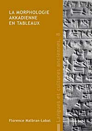 morphologie akkadienne en tableaux