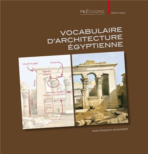 9782874570537: Vocabulaire d'architecture égyptienne