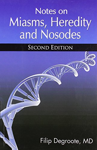 9782874910074: Notes on Miasms, Heredity and Nosodes (English and French Edition)