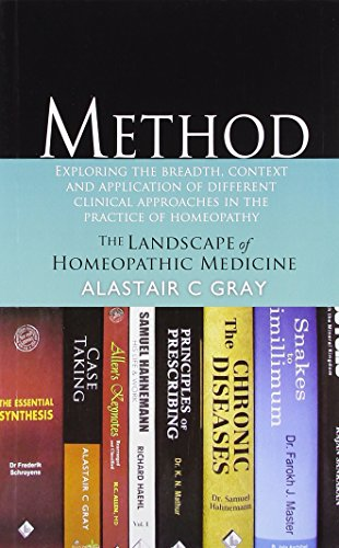 9782874910210: Method: The Landscape of Homeopathic Medicine