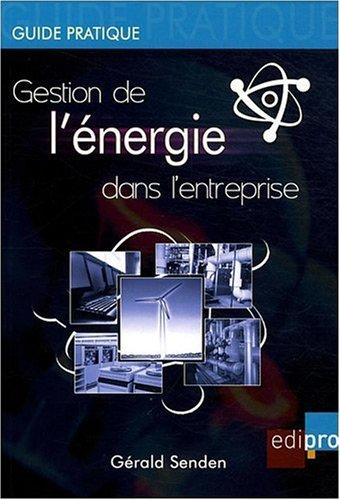 gestion de l'énergie en entreprise: Gérald Senden