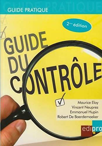 guide du controle, 2eme edition: Maurice Eloy