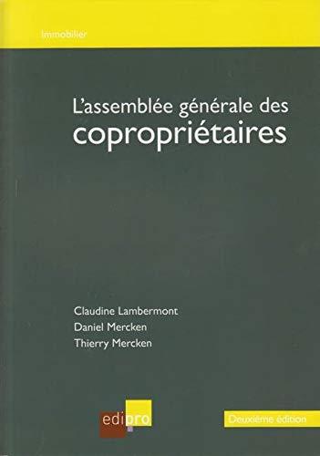 l'assemblee generale des coproprietaires: Lambermont/Mercken