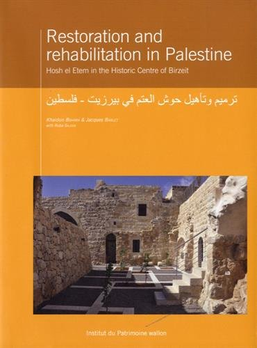 9782875221049: restoration and rehabilitation in Palestine