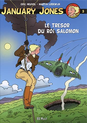 9782875351630: January Jones : Tome 3, Le trésor du roi Salomon