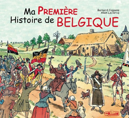 9782875460554: Ma première histoire de Belgique