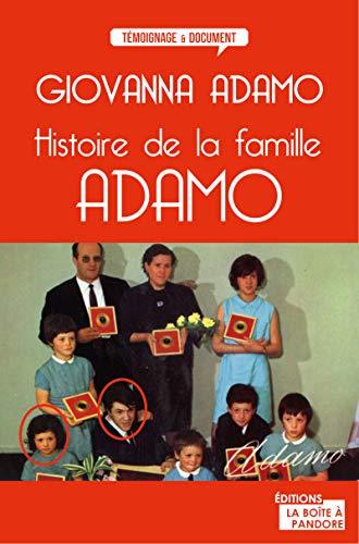 9782875570611: Histoire de la famille Adamo