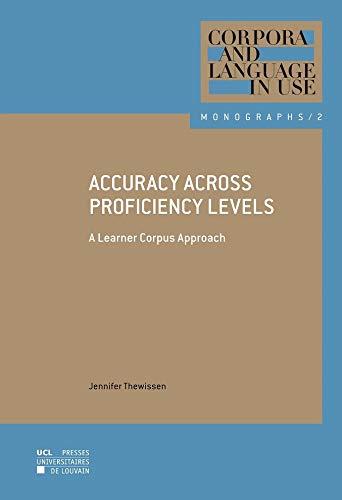 9782875584304: Accuracy across Proficiency Levels : A Learner Corpus Approach