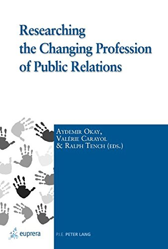9782875740564: Researching the Changing Profession of Public Relations