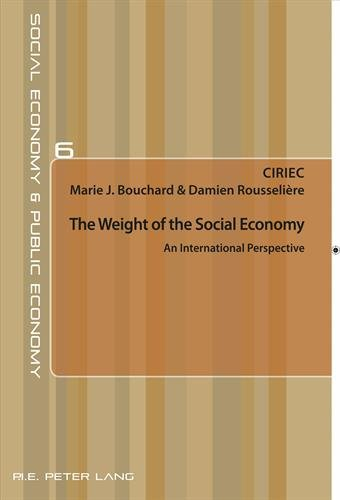 9782875742872: The Weight of the Social Economy: An International Perspective (Économie sociale et Économie publique / Social Economy and Public Economy)