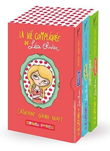 9782875800572: Coffret La vie compliquée de Léa Olivier : Contient : Tome 1, 2 et 3, des stickers et un poster-calendrier