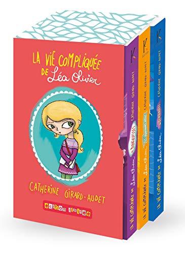 9782875800589: Coffret La vie compliquée de Léa Olivier : Contient : Tome 4, 5 et 6, des stickers et un poster-calendrier
