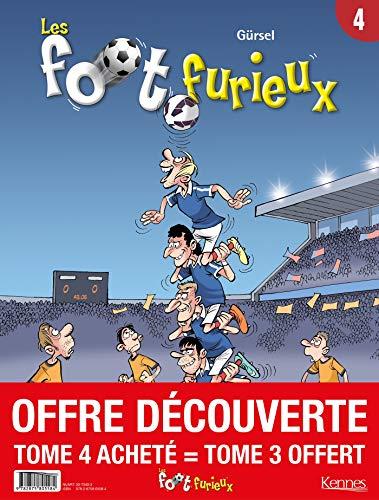 9782875805584: Les Foots furieux - pack T04 acheté = T03 offert